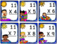 Multiplication Game - Multiplication Worksheets and Flash Cards (Facts 9-12)