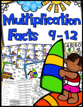 Multiplication Game - 9 Through 12 Multiplication Facts