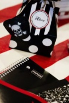 Classroom Decor Pirate Multipurpose Tags
