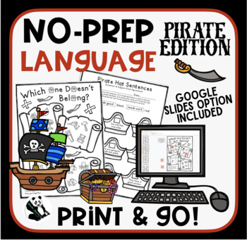 Pirate NO PREP Language Pack