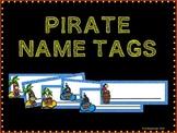 Pirate Name Tags
