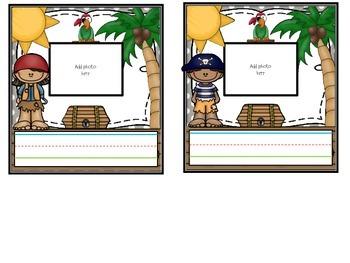Pirate Nametags