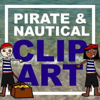Pirate/Nautical Clip Art [Freebie!]