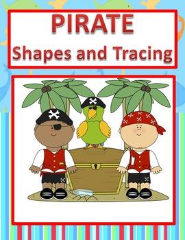 PreK Kindergarten Shapes-Tracing-Fine Motor- Scissor Activ