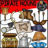Pirate Nouns Clip Art Set {Educlips Clipart}