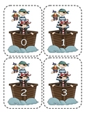 Pirate Number Flashcards