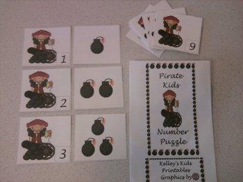 Pirate Number Puzzle