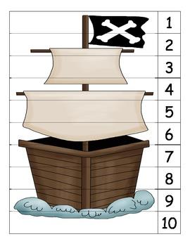 Pirate Number Puzzle 3