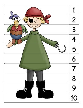 Pirate Number Puzzle 4