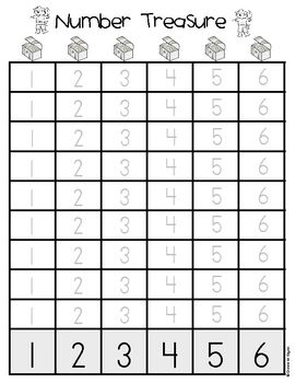 Pirate Number Sense First Week Freebie