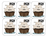Pirate Number Word Sequence Cards