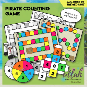 Pirate Number/Counting Game