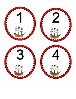 Pirate Numbers