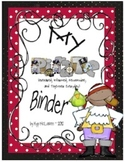 Pirate Organizational Binder