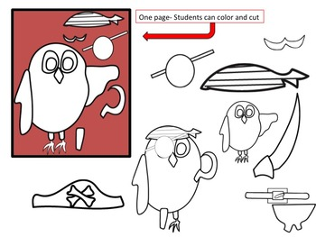Pirate Owl Clip Art