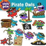 Pirate Owls Clipart