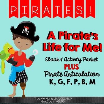 Pirate Pack Digital eBook + Language Activities AND KGF + PBM cards