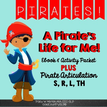 Pirate Pack - Digital eBook + Language Activities AND S, R, L & Th cards