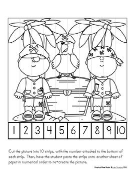 Pirate Packet: Preschool & Early Elementary Printables & Activities