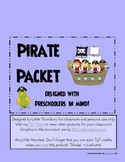 Pirate Packet: Preschool & Early Elementary Printables & Activities