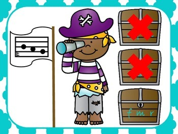 Pirate Pairrrrs - A Game for Practicing - Fa