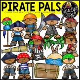Pirate Pals Clip Art Set {Educlips Clipart}