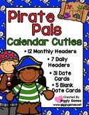 Pirate Pals Full Year Calendar Cuties
