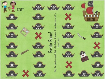Pirate Panic! An Expressive Language Packet