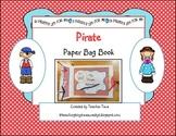 Pirate Paper Bag Book