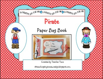 Pirate Paper Bag Book