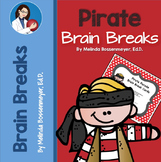 Pirate Parade Brain Break Cards, Posters and PowerPoint