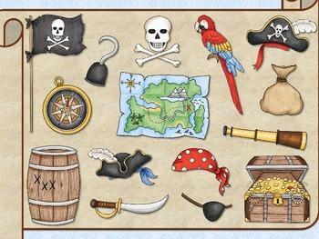 Pirate Paradise - Round 5 (Dotted Half Note and Whole Note/Rest)