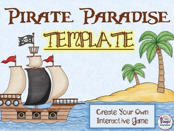 Pirate Paradise Template  - Create Your Own Game