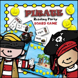 Talk Like a Pirate Day CVC Words & Sight Words | Sight Word Games Kindergarten