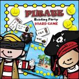 Talk Like a Pirate Day CVC Words & Sight Words | Sight Word Games Kindergarten