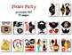 Pirate Party Photo Booth Props Pirate Party Photobooth Prop Party DIY 0020