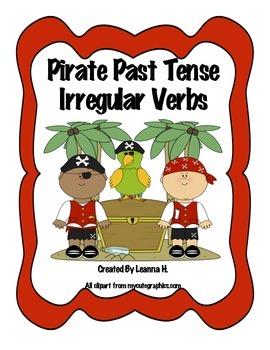 Pirate Past Tense - Irregular Verbs