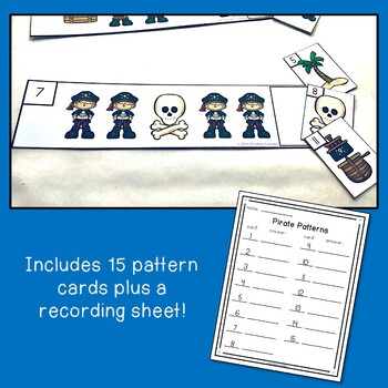 Pirate Pattern Cards