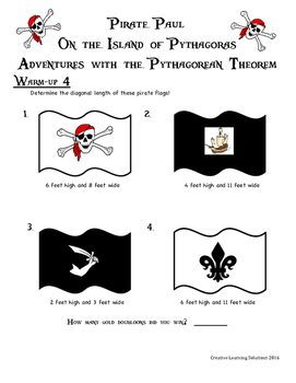 Pirate Paul On the Island of Pythagoras-Adventures With the Pythagorean Theorem