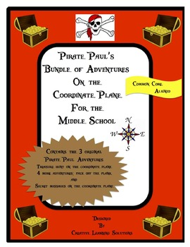 Pirate Pauls Bundle of Adventures on the Coordinate Plane