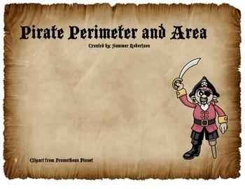 Pirate Perimeter and Area Excursion