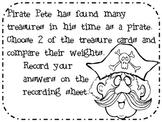 Pirate Pete Comparing Decimals