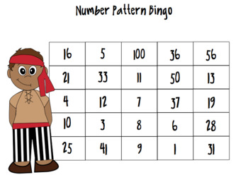 Pirate Pete Number Sense