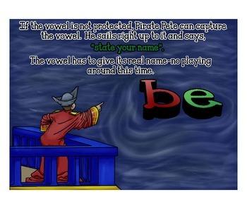 Pirate Pete Phonics - Lesson 2 Long Vowels