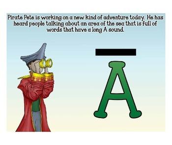 Pirate Pete Phonics Lesson 5 Long a
