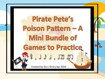 Pirate Pete's Poison Pattern Mini Bundle