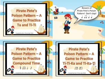 Pirate Pete's Poison Pattern Mini Bundle #3