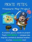 Pirate Pete's Treasure Map Project :Teach Map Skills: Memo