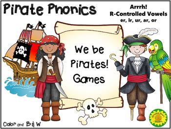 Pirate Phonics Fun! R-Controlled Vowels