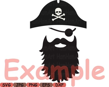 Pirate Photo Booth Props Pirates clip art game Party Birthday masks love -184s
